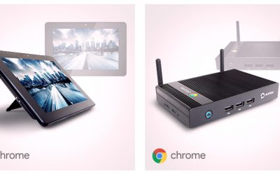 AOPEN Chrome Devices. Great things come in small packages!