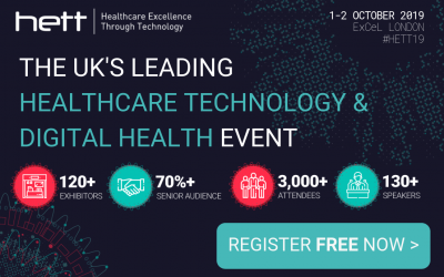 Distec and Elo Touch Solutions to Showcase Next-Gen Healthcare Tech at HETT 2019