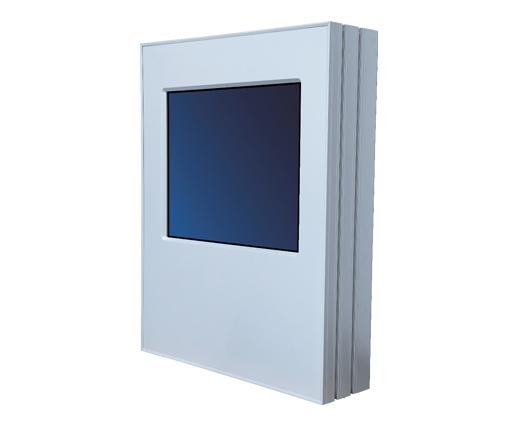 FlexiOutdoor Wall wall-mounted interactive kiosk