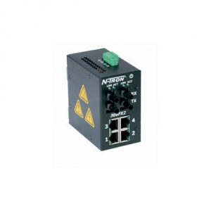 Red Lion 306FX2-N-SC 6 Port Monitored Ethernet Switch