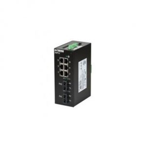 Red Lion 308FX2-N-SC 8 Port Monitored Ethernet Switch