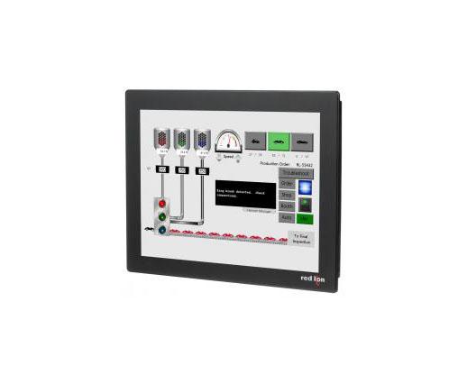 Red Lion CR30001500000420 15″ Widescreen HMI