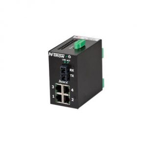 Red Lion 305FX-N-SC 5 Port Monitored Ethernet Switch