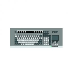 Ex i keyboard with touchpad