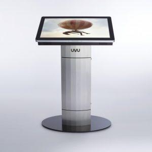 UVU Indoor Touch Screen Pedestal