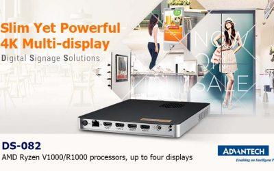 Partner Product Showcase: Advantech DS-082 4K Digital Signage Player