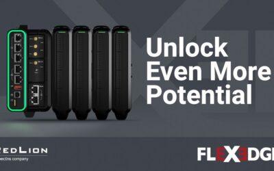 Red Lion's FlexEdge™ Intelligent Edge Automation Platform Integrates IT and OT