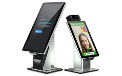 Partner Product Showcase: Elo Access™ Wellness-Check Access Control Kiosk