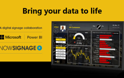 Webinar: Display Microsoft Power BI Dashboards with NowSignage