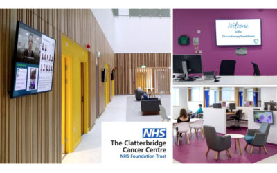 NHS Implement NowSignage Digital Signage across the UK's Leading Cancer Centre