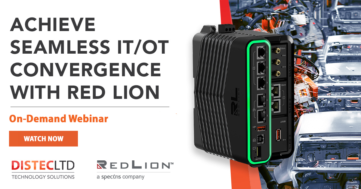 Webinar: Achieve Seamless IT/OT Convergence with Red Lion