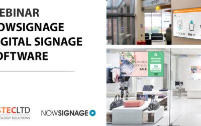 Webinar: NowSignage Digital Signage Software