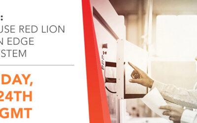 Webinar: How to use Red Lion HMI as an Edge SCADA System