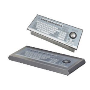 Zone 2 Division 2 keyboard with optical trackball